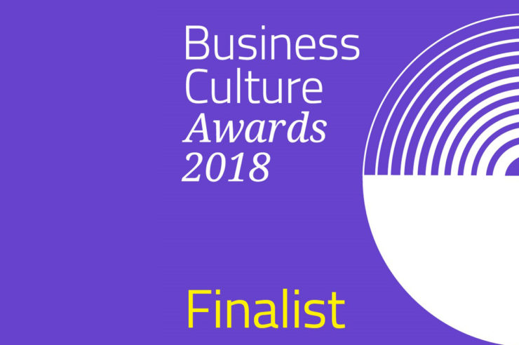 Insight - We are a finalist: Business Culture Awards