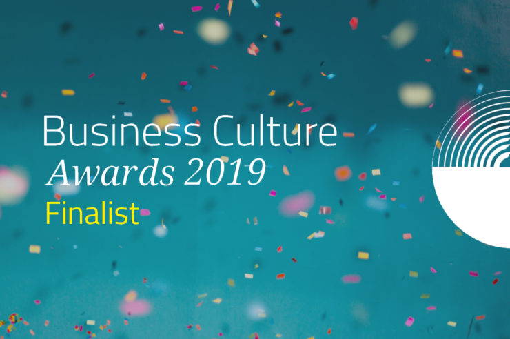 Insight - We are a finalist: 2019 Business Culture Awards (news)